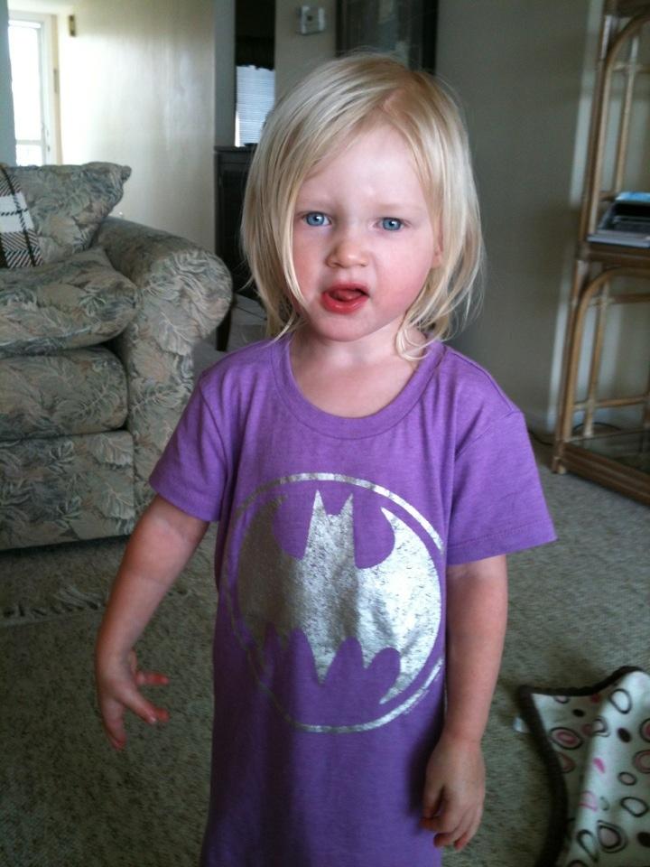 Thankful for toddler tantrums